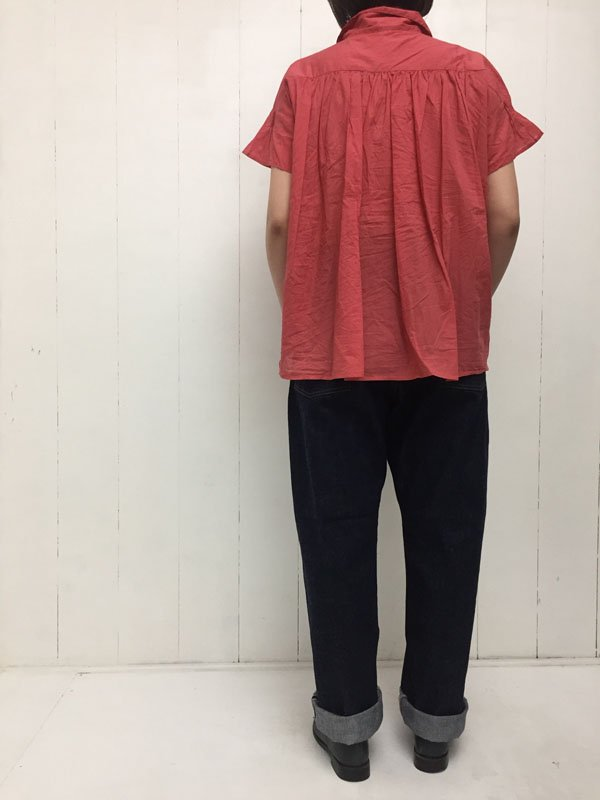 NEW FARMERS 5POCKET DENIM (one wash・white)
