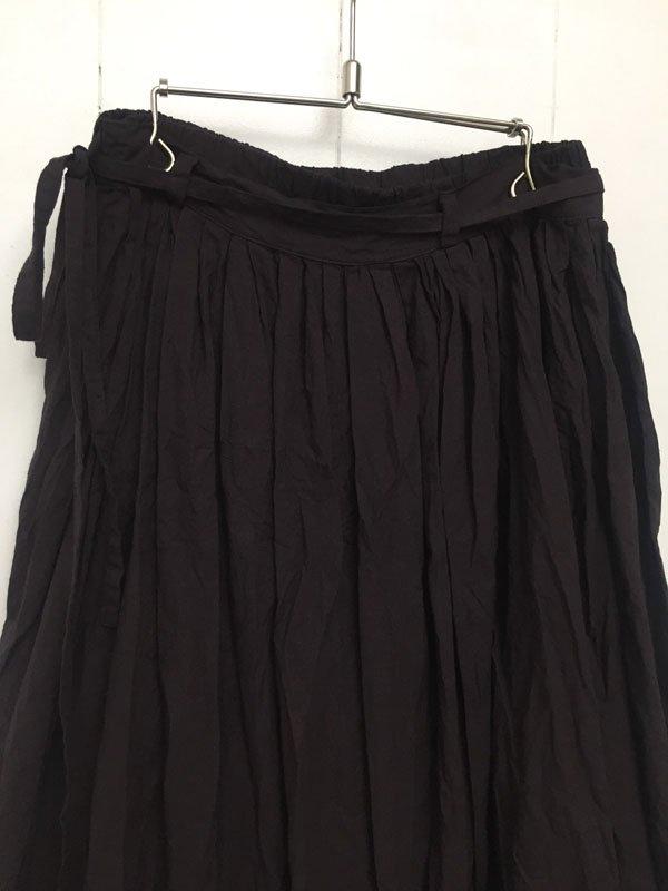カディコットン ギャザースカート