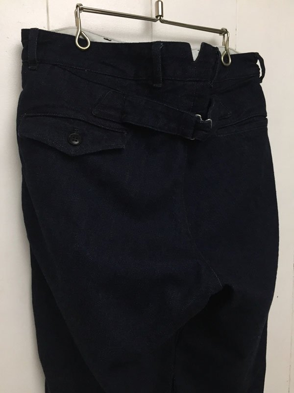 YARD TROUSERS denim one wash