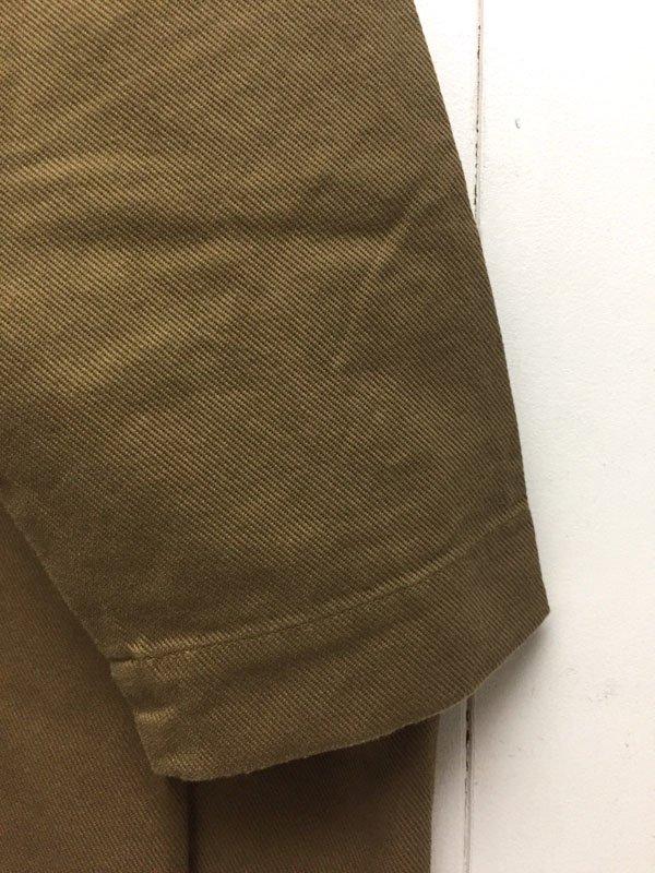 30/1 引き揃えツイル スタンドカラー ビッグシャツワンピース