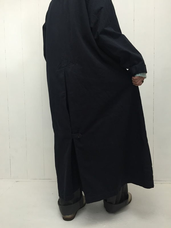 チノクロス製品染め オーバーコート