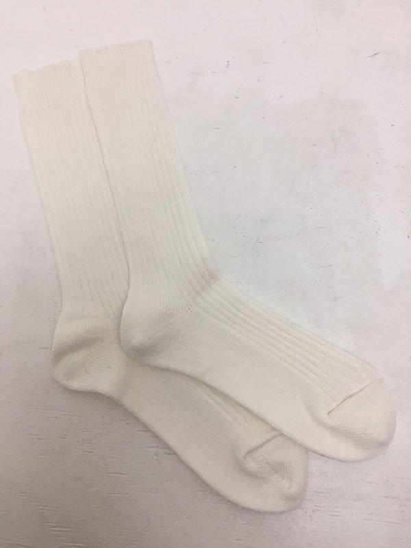 Linen Rib Socks