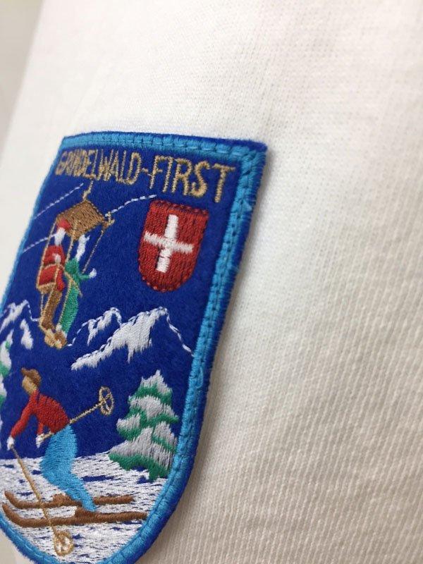 """レトロ Ski Wide T """"グリンデルヴァルド柄"""""""
