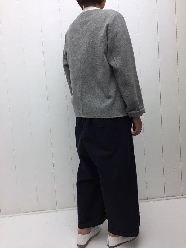 ウール コックシャツ