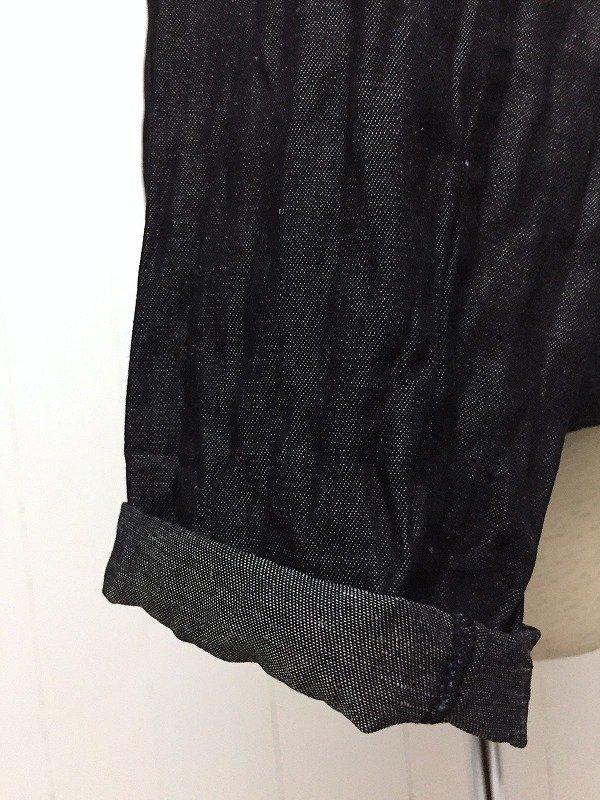 ライトデニム コックシャツ