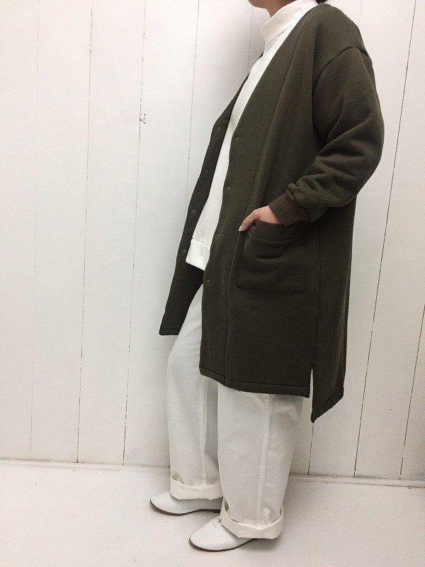 ムートン裏毛 ハーフコート