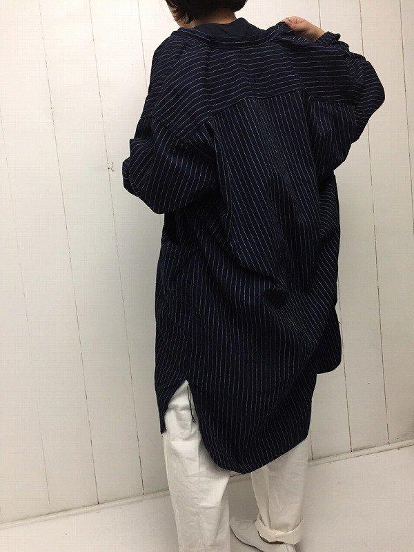 ブッチャーストライプ オーバーシャツ