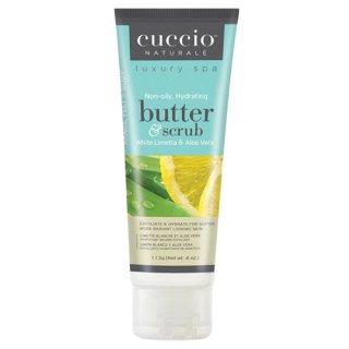 CUCCIO(クシオ) バタースクラブ ホワイトライム&アロエベラ 113g 角質除去