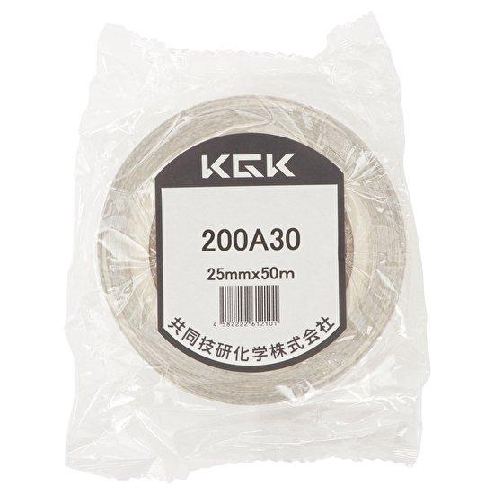 高い接着力、防水性、耐熱性、耐薬品性に優れて 分子勾配膜両面テープ「200A30」【画像2】