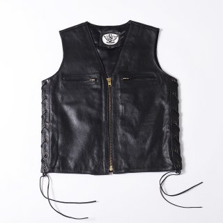 63Leathers Original Leather Vest