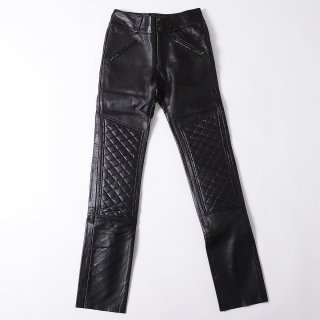 63Leathers Original Slimfit LeatherPants (with Pad)