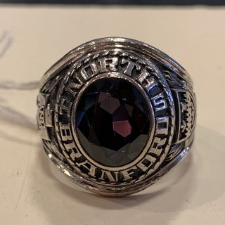 <img class='new_mark_img1' src='//img.shop-pro.jp/img/new/icons1.gif' style='border:none;display:inline;margin:0px;padding:0px;width:auto;' />1976 North Branford High School Ring Sterling Silver 23号