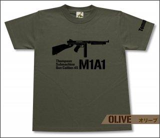 トンプソンM1A1 Tシャツ