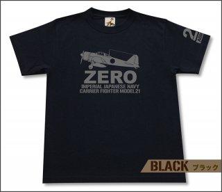 零式艦上戦闘機 21型 Tシャツ