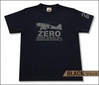 零式艦上戦闘機 22型 Tシャツ