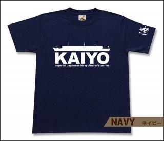 空母 海鷹 Tシャツ