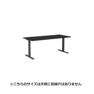 Garage パソコンデスク fantoni GT−188H 幅180cm 奥行き80cm 黒 ブラック