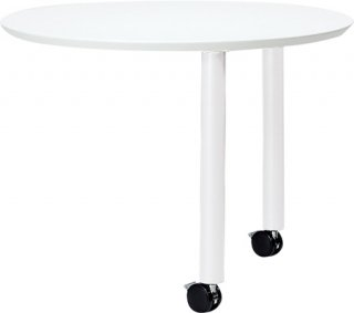 fantoni ME サイドテーブル 53-5M97 白/白脚
