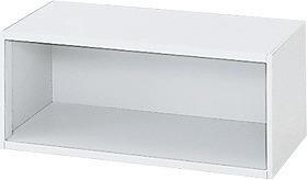 l540e 635-772 Garage 収納家具 スチール製 システム収納L5 収納庫 オープン保管庫 幅90 奥行45 高さ37.5cm