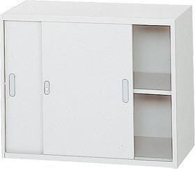 l570s 635-342 Garage 収納家具 スチール製 システム収納L5 収納庫 引違い保管庫 幅90 奥行45 高さ72cm