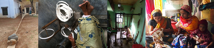 ABOUT INDIAN FABRICS - CALICO:the ART of INDIAN VILLAGE FABRICS