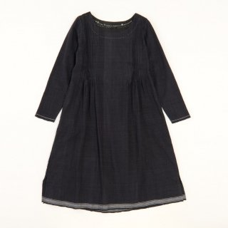 maku PIKA BK - 50% cotton & 50% silk handwoven dress