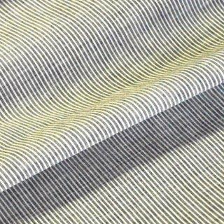 ストライプカディ(ナチュラル/ブルー)/10cmあたり