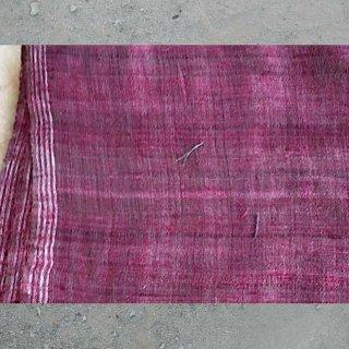【予約作品】0004 Handwoven Yardage with Natural Dye from Bhujodi  ブジョディの天然染手織生地
