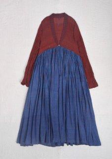 maku DZIBAN_398 - 100% Cotton Handwoven Dress