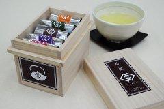 ミニ茶箱&特選フレーバー茶5種セット