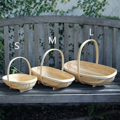 <img class='new_mark_img1' src='//img.shop-pro.jp/img/new/icons14.gif' style='border:none;display:inline;margin:0px;padding:0px;width:auto;' />Wooden garden trug