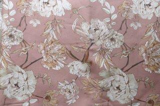 フランス新花柄 ピンク