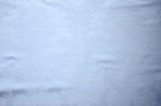 フランス大柄ダマスク ホワイト