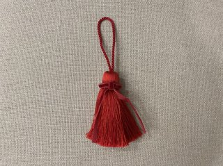 リボンタッセル(小) 赤
