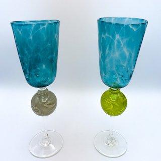 水影シャンパングラス2020(緑)