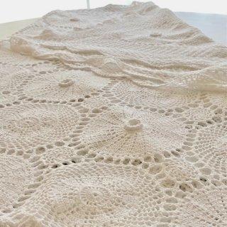 手編みクロッシェレース