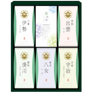 茶の国めぐり 茶水詮 緑茶ティーバッグ詰合せ TB-25 4140