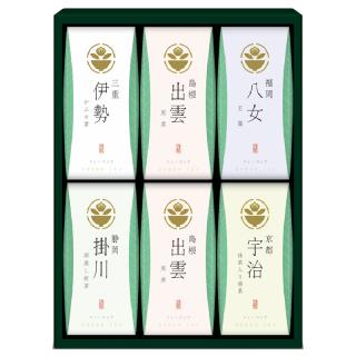 茶の国めぐり 茶水詮 緑茶ティーバッグ詰合せ TB-30 4140