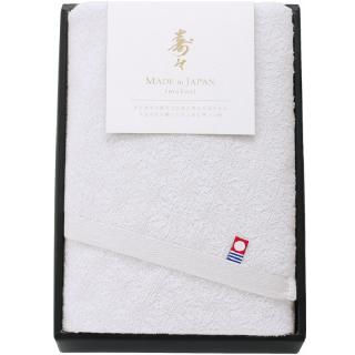 寿々(じゅじゅ)紅白タオルセット(白)60312 0091