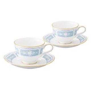 ノリタケ レースウッドゴールド ティー・コーヒー碗皿ペア Y6578A/1507