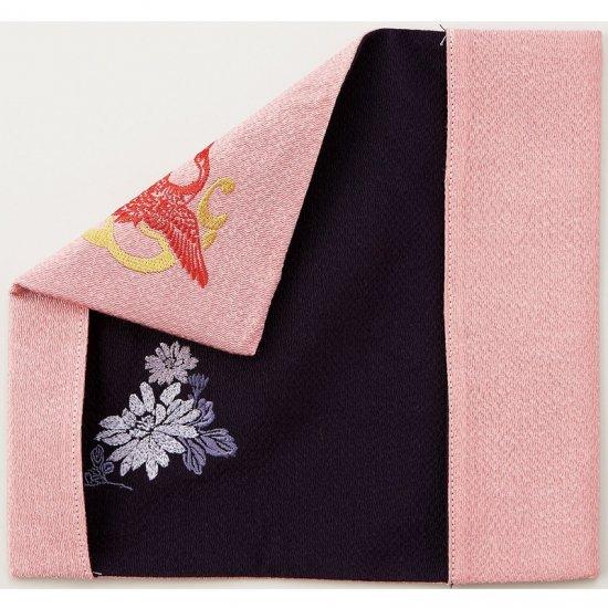 408-201リバーシブル慶弔ふくさ ピンク・パープル 408-201 1800