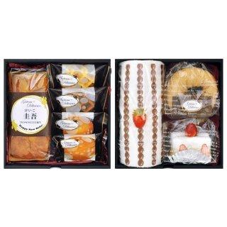 ガトー・デリシュー 焼菓子詰合せ&ケーキタオル NYU-30F【お名入れ】2970