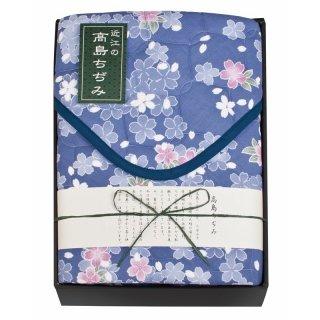 素材の匠 近江高島ちぢみ 敷パッド WAT-8003 6800