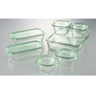 イワキ パック&レンジシステムセット(耐熱ガラス)PSC-PRN-G7 0045