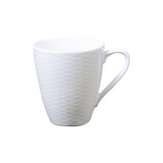 ノリタケ リズモホワイト マグカップ T5355L/1610