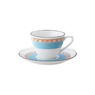 ノリタケ ハミングブルー ティー・コーヒー碗皿 T5389L/1645