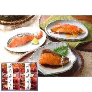 母の日 限定包装 氷温熟成 煮魚焼魚ギフトセット10切 SNYG-100【送料無料】0045