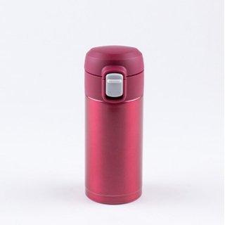 オミット ワンタッチ栓スリムマグボトル200ml レッド RH-1507 8910