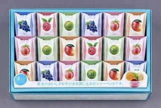 【夏ギフト】河内駿河屋 凍るどシャーベットCO-30 1961