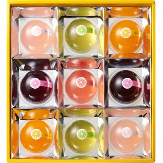 【夏ギフト】恵比寿製菓 フルーツもちもちゼリー(小)9123